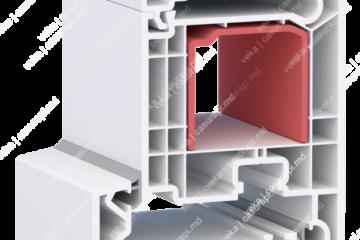 Двери системы WHS 72 by VEKA